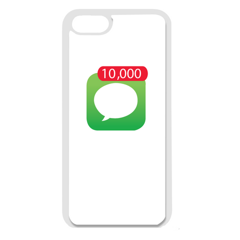 Paris: 10,000 Notification Iphone White Case (Multiple Style Options)