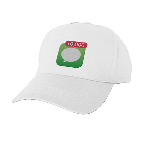 "Hey Paris ""10,000 Notifications"" Baseball Cap Multiple Choices"