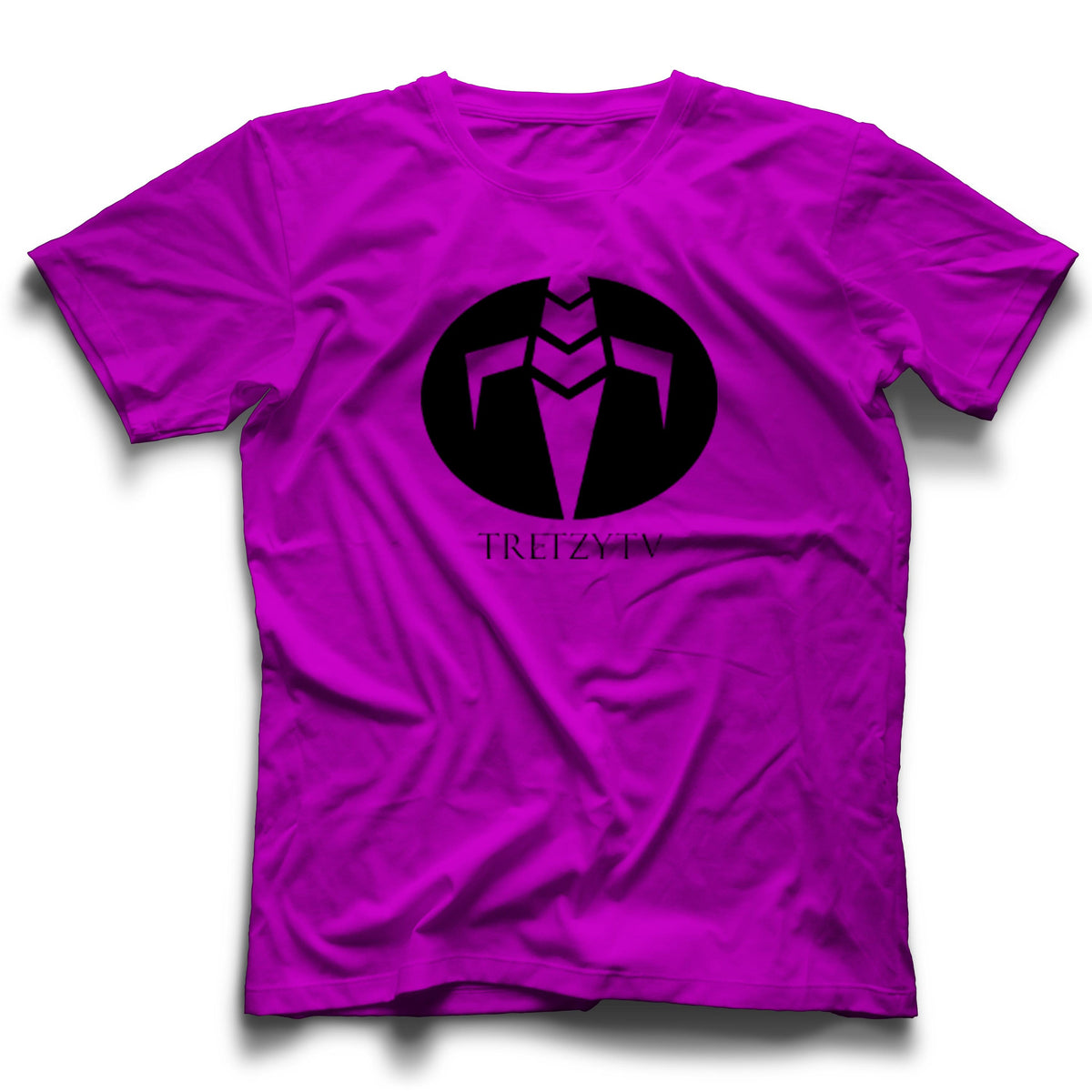Tretzy Moon T shirt  Purple
