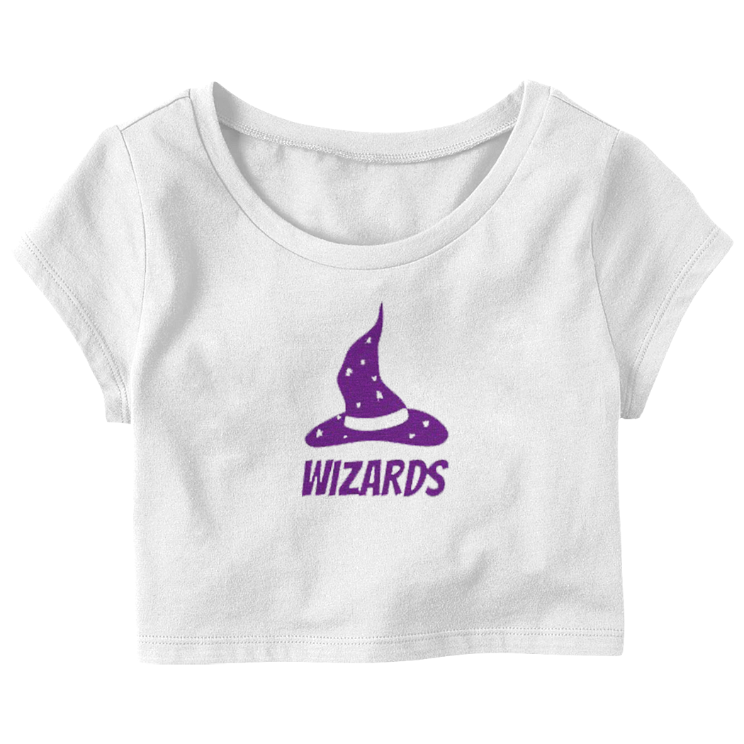 "Sierra Watts ""Wizard"" Crop Top T-Shirt"