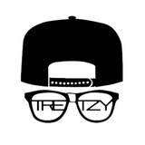 Tretzy Tv: Classic Sticker 4x4 (Black Edition)
