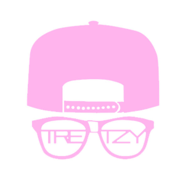 Tretzy Tv: Classic Sticker 4x4 (Pink Edition)