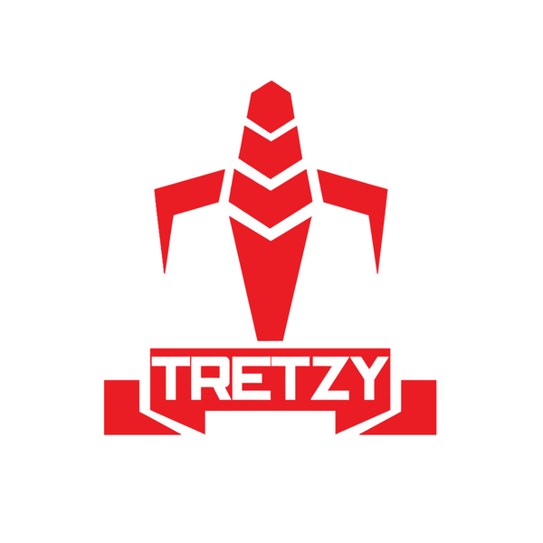 Tretzy Tv: Trooper Sticker 4x4 (Multiple Colors)