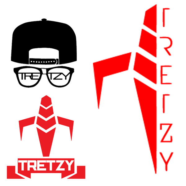 Tretzy Tv: Sticker Fan Pack