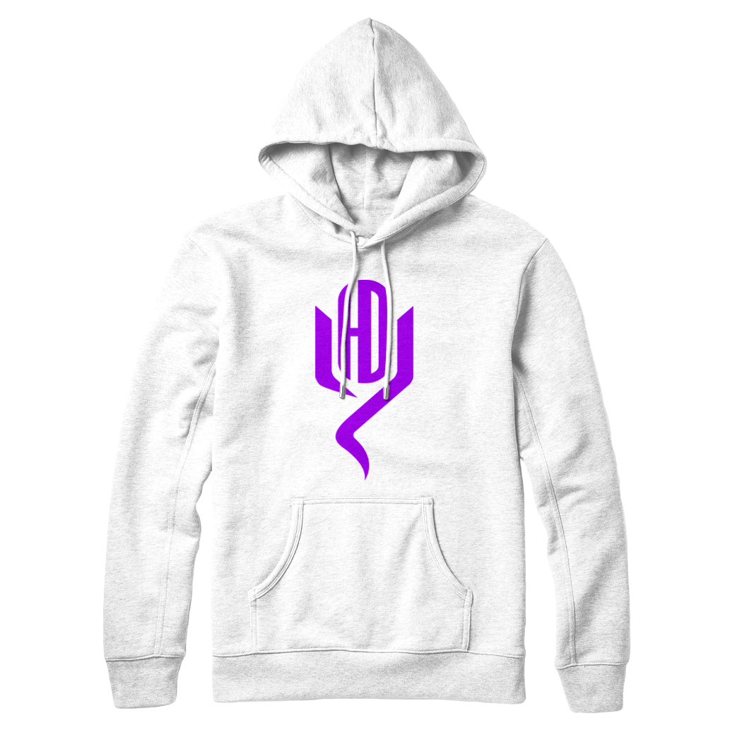 Youtubable | Logo Hoodie ( White Hoodie ) More color options