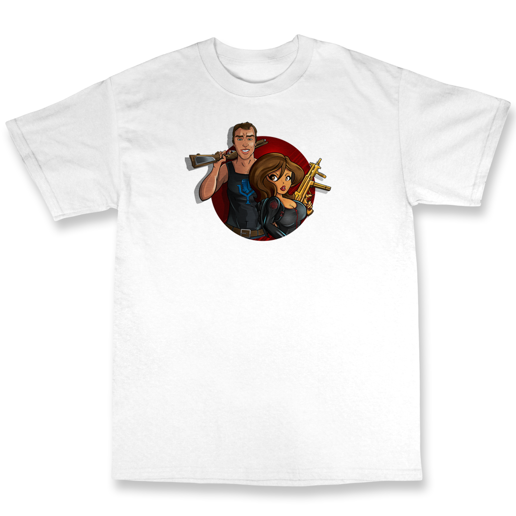 Heart Attack and Youtubeable Duo T shirt V2