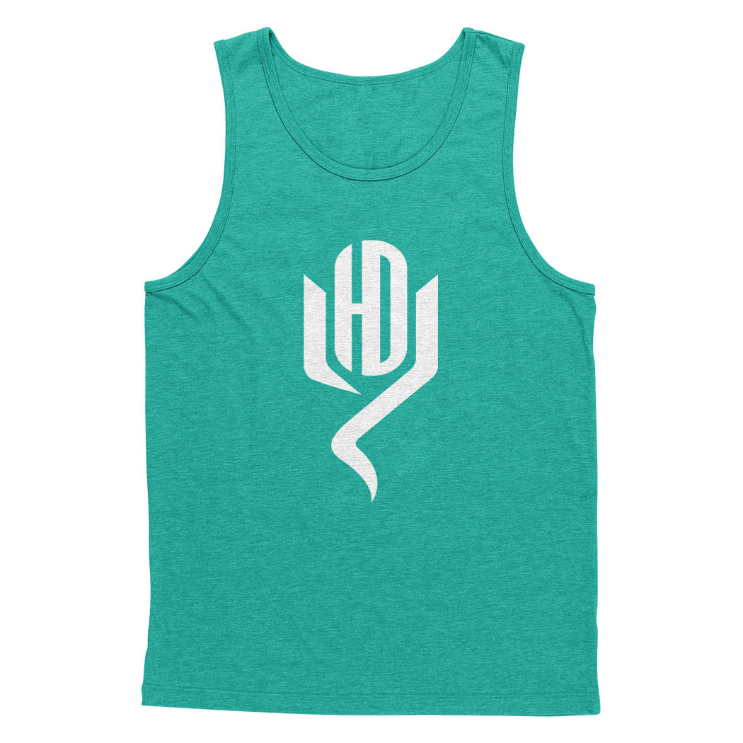 Youtubable Tank T shirt ( EverGreen White Logo )