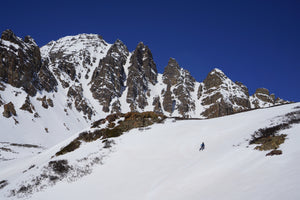 Pearl Couloir / Cathedral Peak