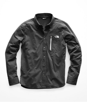 The North Face - M Alpenbro Long Sleeve, Asphalt