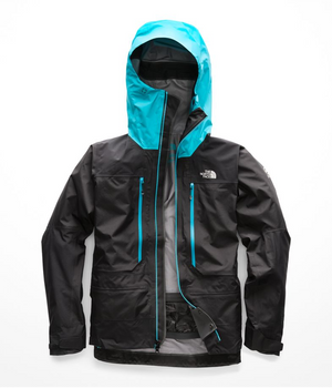 The North Face - W Summit L5 GTX Pro Jacket, Black/Bluebird