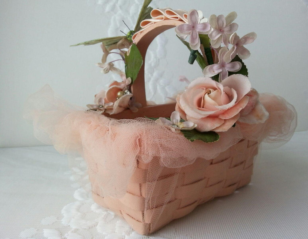Easter Basket in Pink