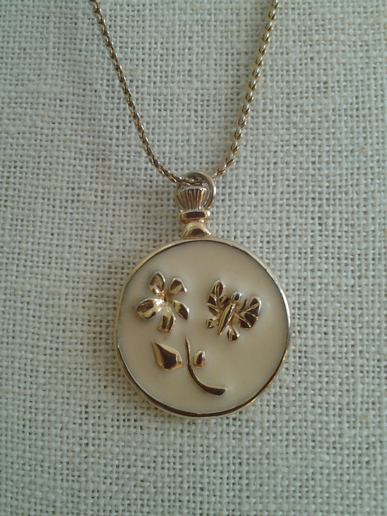 Golden Garden Pendant Necklace
