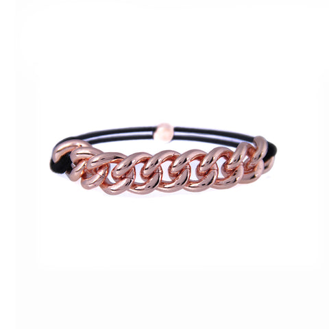 Rose Gold Chained Elastic
