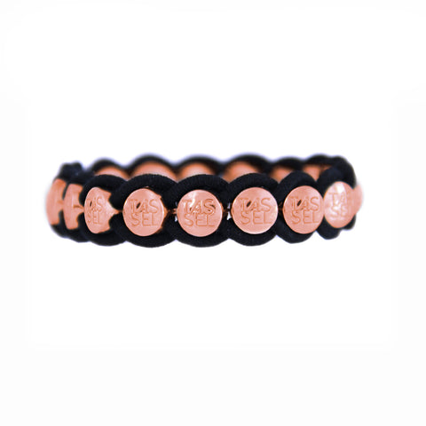 Rose Gold Charmed Elastic