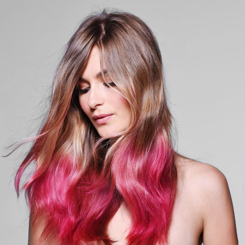 Pink Color Kissed Hairspray