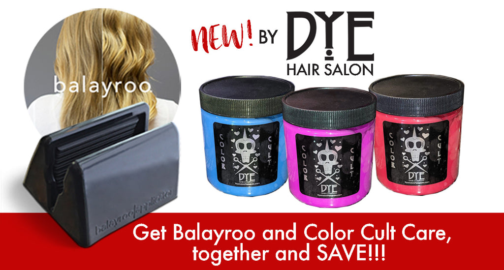 Ballayroo and Color Cult Hair Color Treatment