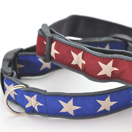 Star Spangled Hemp Collars
