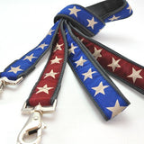 Star Spangled Hemp Leashes
