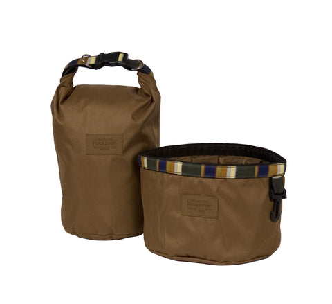 Pendleton Badlands National Park Travel Pet Food Bag and Water Bowl