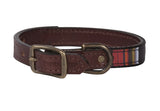 Pendleton Acadia National Park Explorer Leather Dog Collar