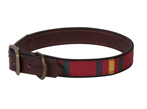 Pendleton Ranier National Park Explorer Leather Dog Collar
