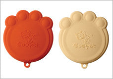 Paw Can Cover Set Orange & Cream