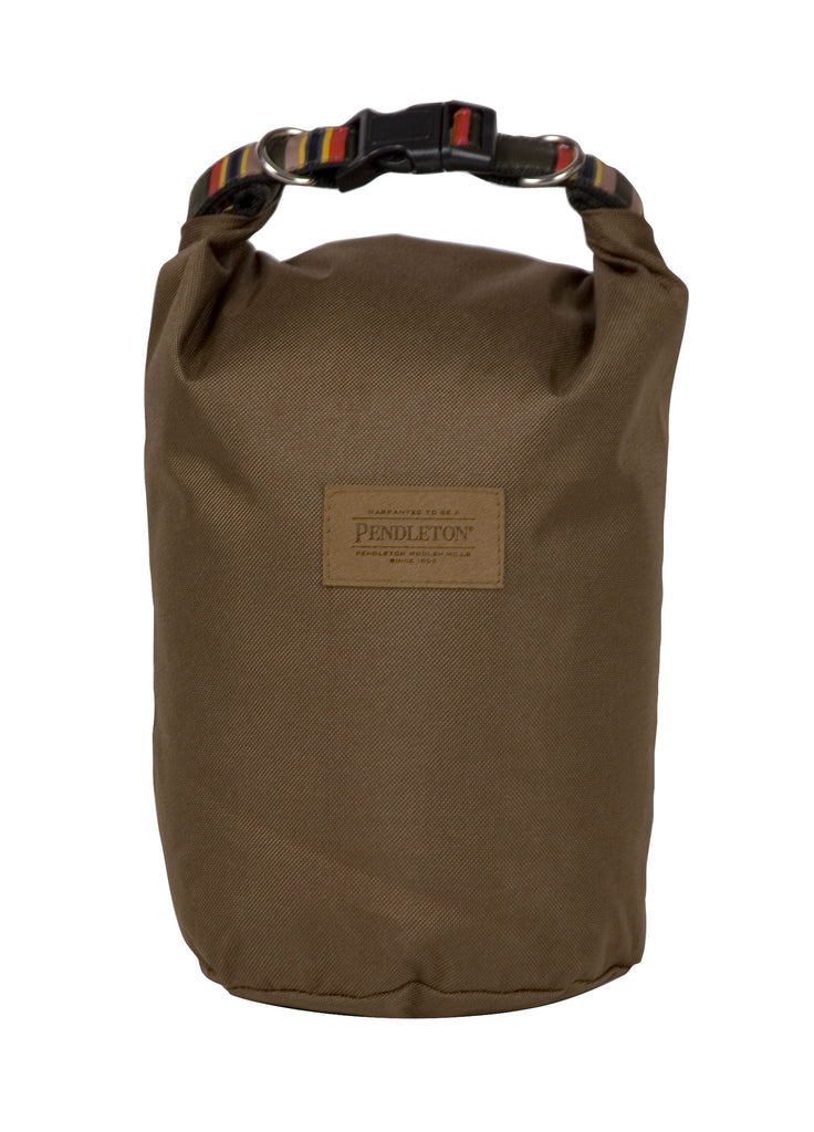 Pendleton Yakima Camp Travel Pet Food Bag in Heather Green