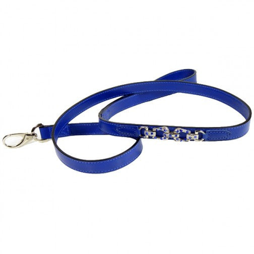 After Eight Dog Leash - Cobalt Blue
