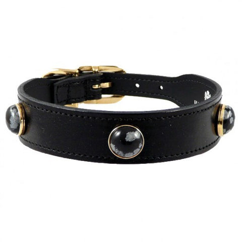 Au Naturale Dog Collar - Black
