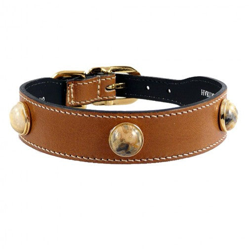 Au Naturale Dog Collar - Natural Tan