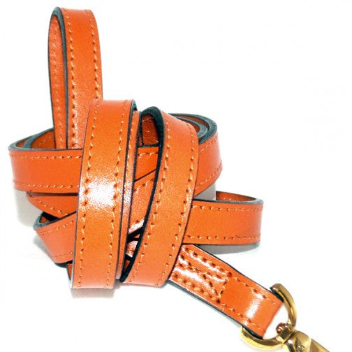 Au Naturale Dog Leash - Tangerine
