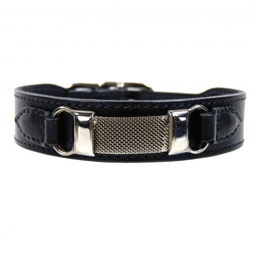 Barclay Dog Collar - Black