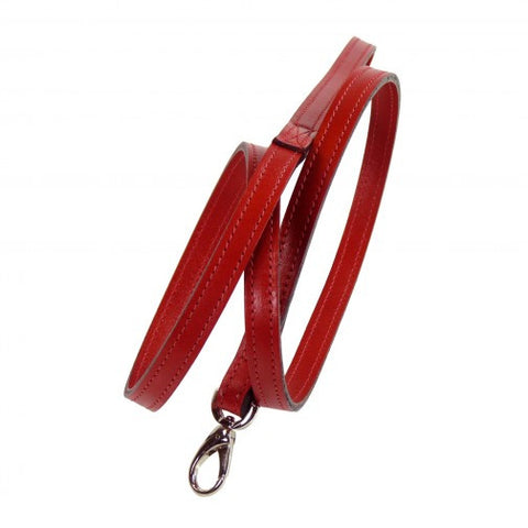 Barclay Dog Leash - Ferrari Red