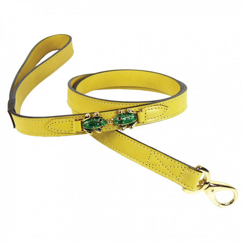 Leap Frog Dog Leash - Canary Yellow