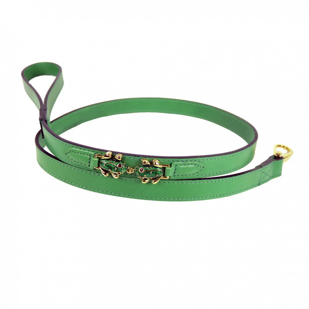 Leap Frog Dog Leash - Cut Grass Green