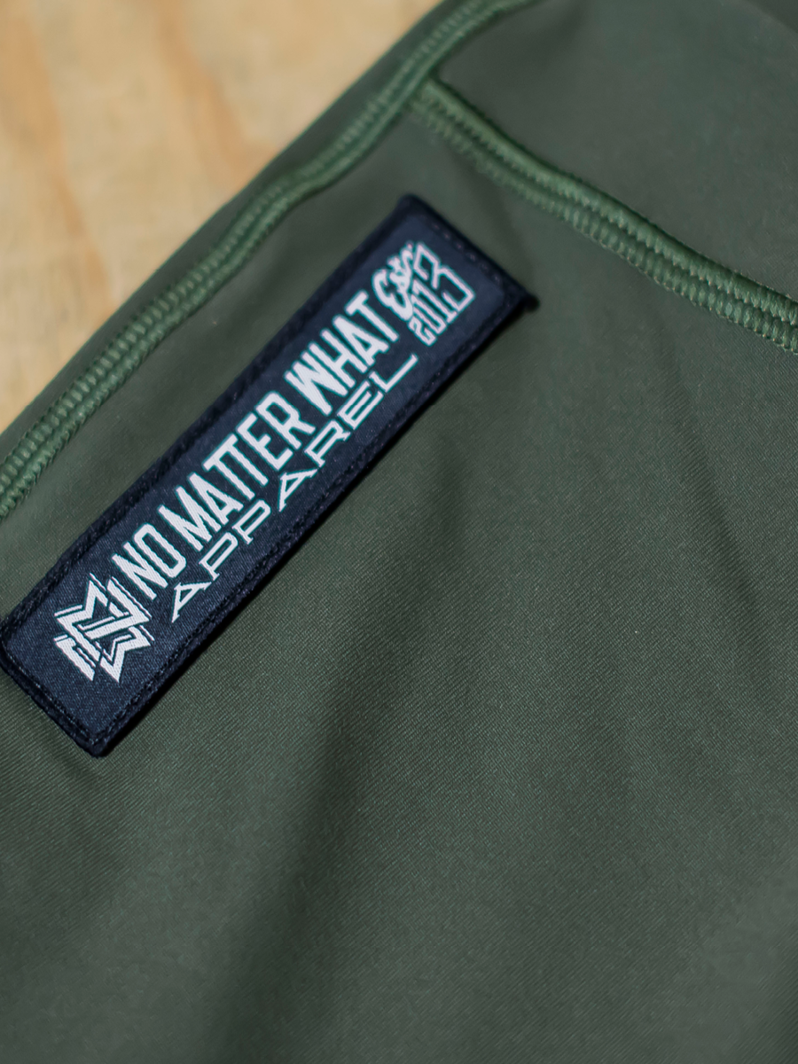 NMW Apparel | Unisex Joggers | Military Green