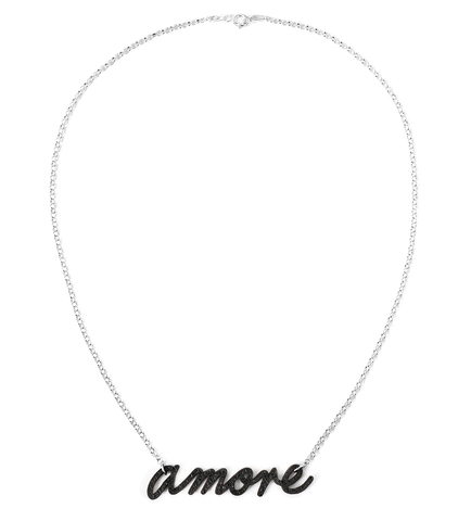 Amore Love Leather Necklace
