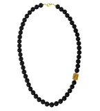 Matte Onyx Classic Necklace