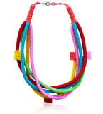 Candy Color Multi-Strand Bright Bib