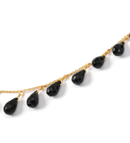 Onyx Drop Necklace