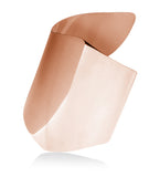 Rose Gold Twisted Statement Cuff