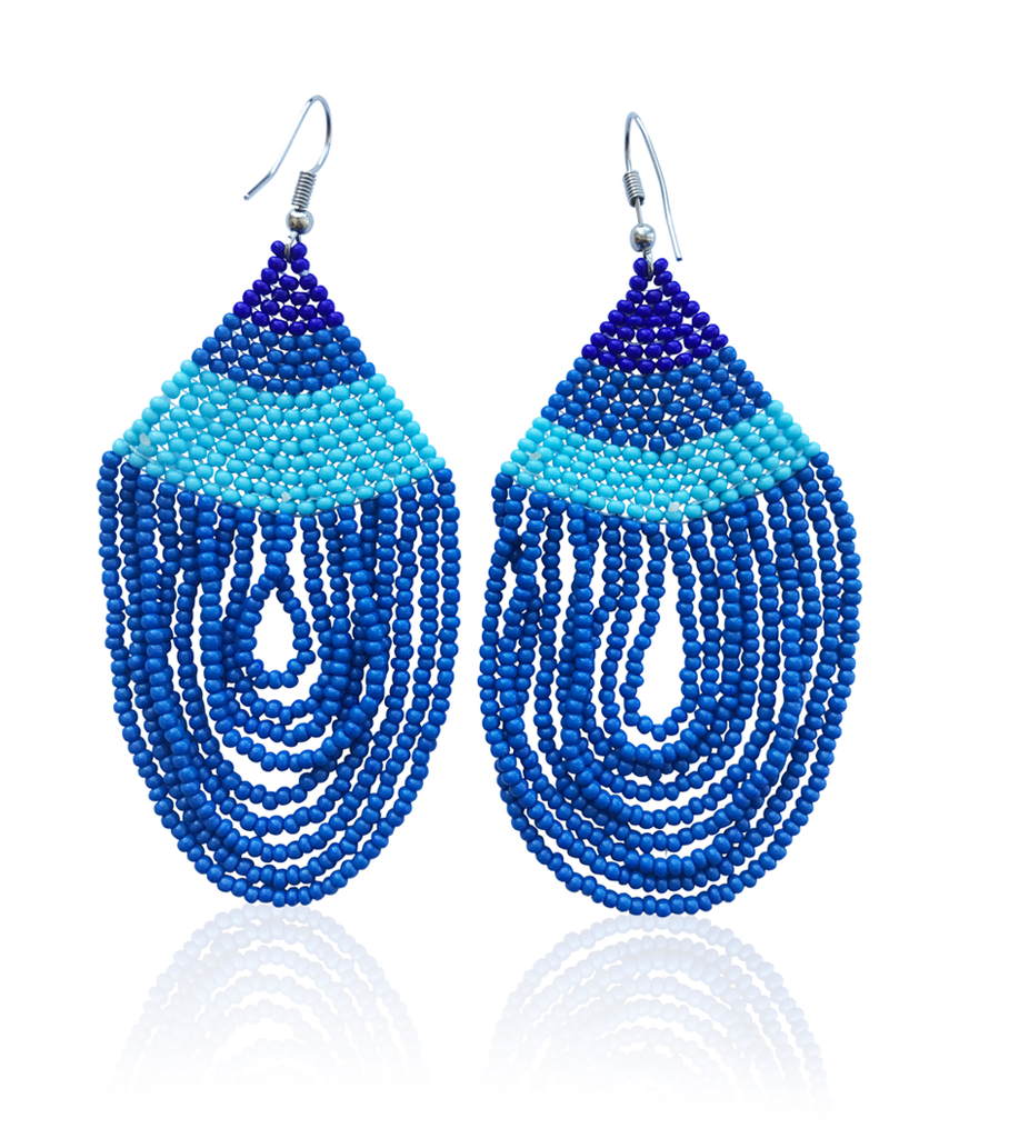 Water Bead Drop Earrings