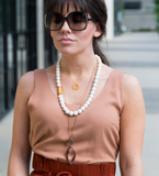 White Coral Classic Necklace