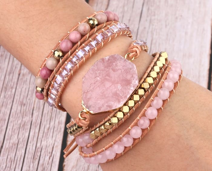 natural quartz jewelry