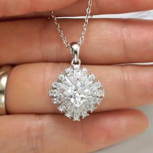 Sterling Silver Luxury Pendant Necklace