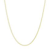 Sterling Silver Cubic Zirconia Attractive Key Necklace 16+2 Inch Gold - Jewelry - Prjewel.com - 2