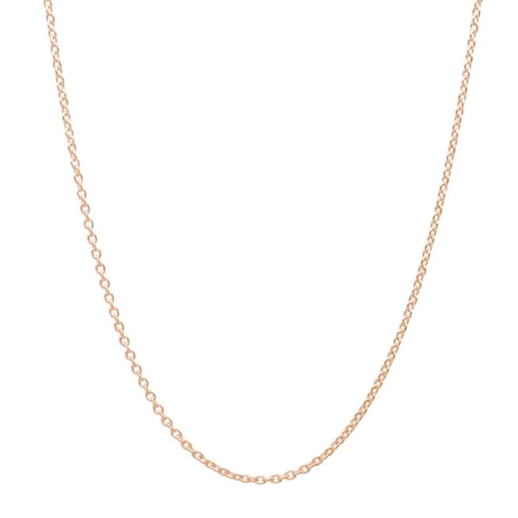 Cz Key Rose Gold Plated 925 Sterling Silver Necklace 3