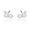 Lovely Cherry 925 Sterling Silver Cubic Zirconia Earrings