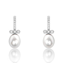 Freshwater Cultured Pearl Sterling Silver Earrings - Jewelry - Prjewel.com - 1