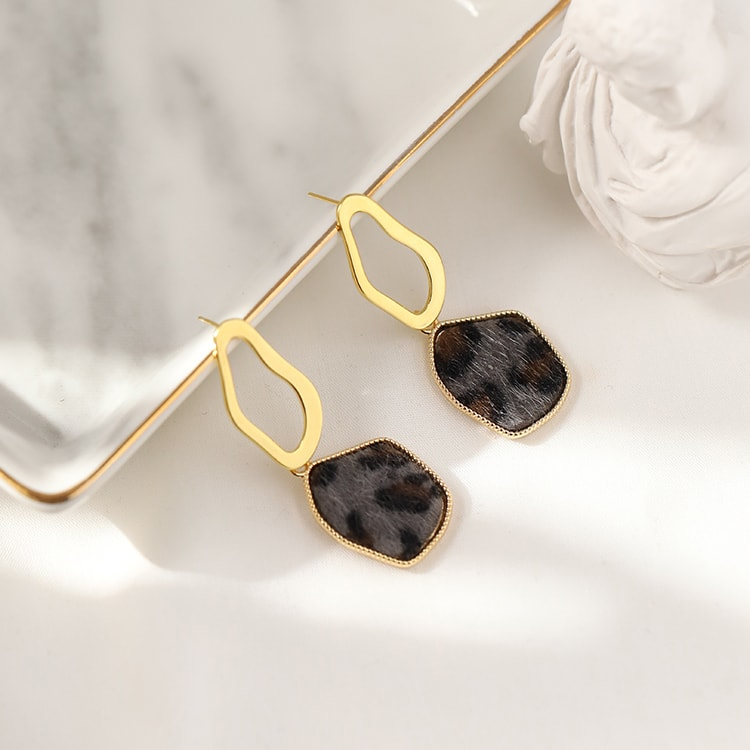 Fashion Individual 925 Silver Geometric Earrings